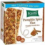 Kashi Pumpkin Spice Flax Crunchy Granola Bars - 8.4 Ounce Box - Pack Of 6