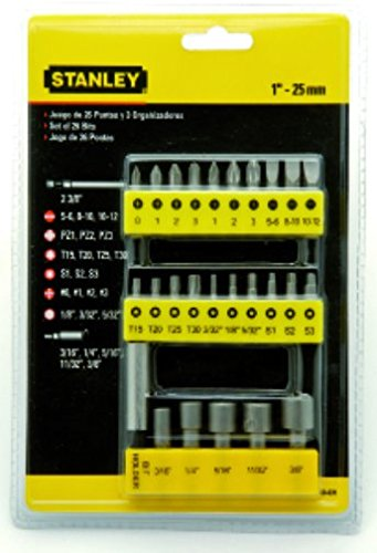 Stanley-68-071-23-Insert-Bit-Screwdriver-Set-(29-Pcs)