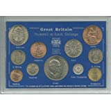 Farewell To The £sd System Pre-Decimal £.s.d (11 coins) Crown Coin Present Display Gift Set