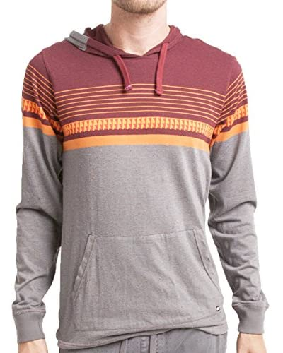 Micros Men's Mixer Long Sleeve Hoodie with Kangaroo Pocket