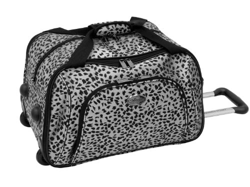 amelia-earhart-luggage-safari-360-collection-wheeled-club-bag-silver-black-jacquard-one-size