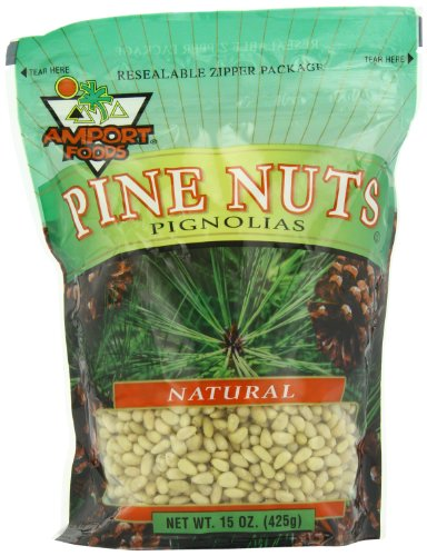 Amport Foods Natural Pine Nuts, 15 Ounce (Amport Foods compare prices)