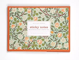 Galison 1637-9 William Morris Clover Sticky Notes