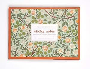 Galison 1637-9 William Morris Clover Sticky Notes