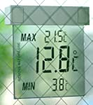 窓用デジタル最高最低温度計 10250