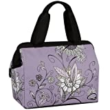 Thermos Raya Lunch Duffle, Purple Flower