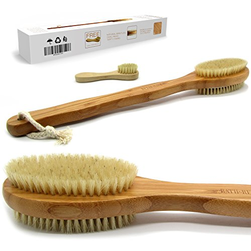 Bath & Relax Luxury Bamboo Bath Brush Long 17