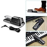 Neewer® Universal Piano-style Sustain Foot Pedal with Polarity Switch Design Compatible with Any Electronic Keyboard with 1/4 Input Jack