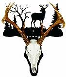 HQ Taxidermy BUC005 Standing Buck Skull Mount