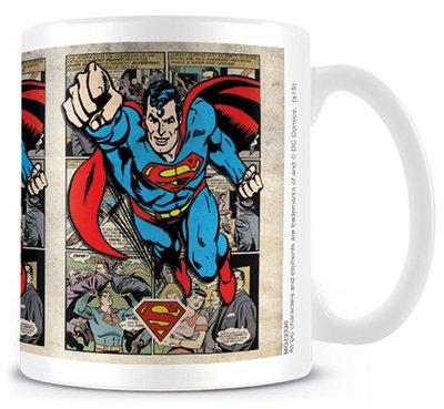 """DC Origins """"griglia Superman"""" tazza di ceramica"""