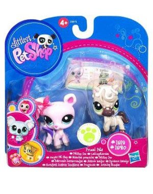 Buy Low Price Hasbro Littlest Pet Shop Prized Pet Pairs Series 1 Figures Horse Deer (B004MUFMGQ)
