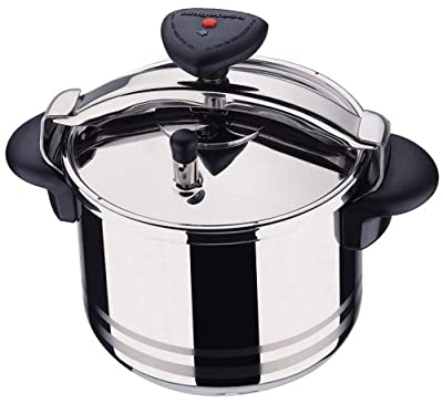 Magefesa Star R 8-Quart Stainless Steel Pressure Cooker by Magefesa
