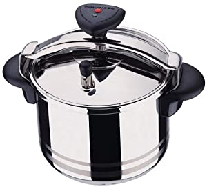 Magefesa Star R 10-Quart Stainless Steel Pressure Cooker