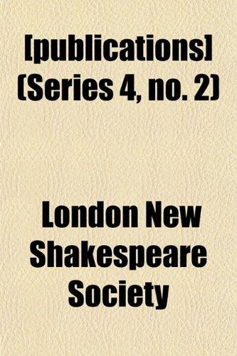 [publications] (Series 4, no. 2)