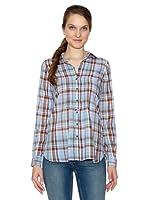 Tommy Hilfiger Camisa Fern Chk Shirt Ls (azul cielo)