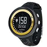 Suunto M5 - Reloj deportivo (40 g, Negro, Oro, CR2032) , color: Black,Gold