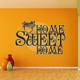 Sweet Home Wall Sticker Decal One - B00O9VXEEU