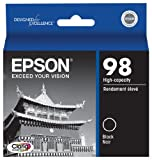 Epson 98 Black Ink Cartridge High-Capacity (T098120) in Retail Packaging