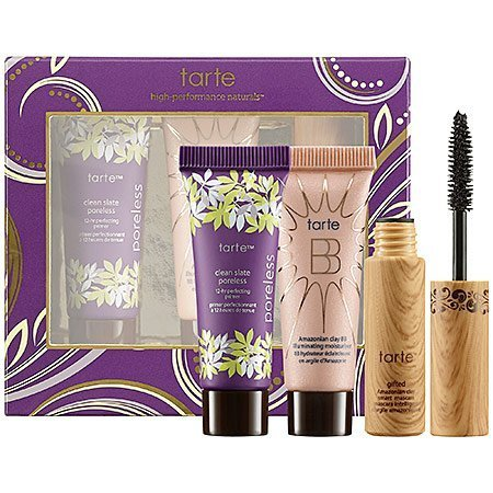 Tarte Prime, Shine & Define Tarte-To-Go Kit With Gifted Mascara, Bb Illuminating Moisturizer And Clean Slate Poreless Perfecting Primer front-63450