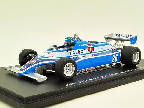 【Spark/スパーク】1/43 リジェ JS17 No.26 1981年 オーストラリアGP 優勝 J.ラフィー