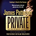 Private (       UNABRIDGED) by James Patterson Narrated by Peter Hermann
