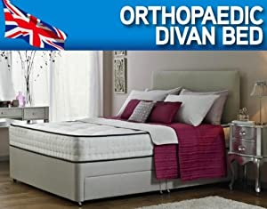 4&'6 DOUBLE ORTHOPAEDIC DIVAN BED WITH MATTRESS AND HEADBOARD       Customer review