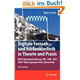 Digitale Fernseh- und Hörfunktechnik in Theorie und Praxis: MPEG-Basisbandcodier... DVB-, DAB-, ATSC-, ISDB-T-Übertragungst...