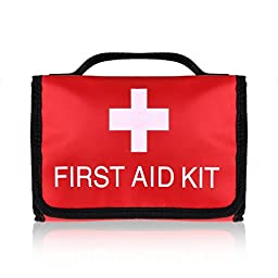 Plusinno TM Mini Compact First Aid Kit Medical Emergency Bag for Home Travel Sport Wilderness Survival (36 Pieces)