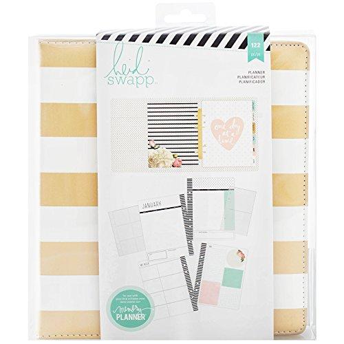 heidi-swapp-memory-planner-large-gold-foil-stripes-planner-122-piece