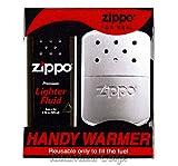 ZIPPO (ジッポー) ハンディーウォーマー オイル充填式携帯カイロ 白金カイロ オイル付 [正規品]