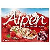 Alpen Strawberry & Yoghurt Cereal Bar 6 X 29G