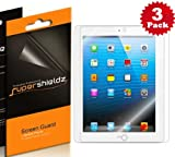 SUPERSHIELDZ- High Definition (HD) Clear Screen Protector For Apple iPad 4, 3 & 2 Generation + Lifetime Replacements Warranty [3-PACK] – Retail Packaging