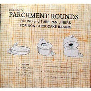 Regency Wraps Parchment Baking Rounds, 50 per package Tube Pans (Paper Tube Pan compare prices)