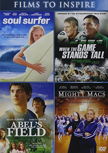 Abel's Field / Mighty Macs, the - Vol / Soul Surfer / When the Game Stands Tall - Vol - Set (Stand Tall Movie compare prices)