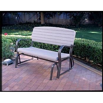 Lifetime 2871 Indoor/Outdoor Glider Bench, 4 Feet, Putty