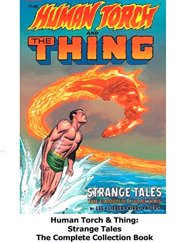 Clip: Human Torch & Thing: Strange Tales The Complete Collection Book on Amazon Prime Video UK
