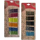 Mini Sparkle Colorful Bobby Pins (120 Pieces)