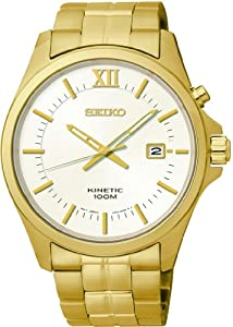 Seiko Kinetic Mens Wristwatch Very elegant