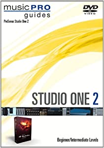 Studio One 2 - Beginner/Intermediate Levels Music Pro Guides DVD