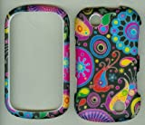 Kyocera Milano C5120 Sprint Snap-On Hard Protective Case Cover Skin Faceplates Protector PINK YELLOW DEISGNER Reviews