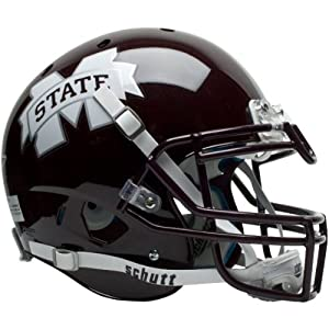 MISSISSIPPI STATE BULLDOGS Schutt AiR XP Full-Size AUTHENTIC Football Helmet by ON-FIELD