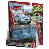 Disney / Pixar CARS 2 Movie 1:55 Quick Changers Spy Finn McMissile with Pop-Out Weapons