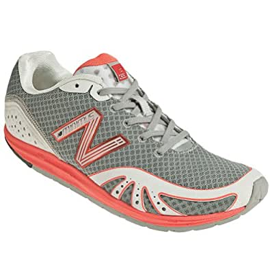 New Balance Womens WR10,Red-Grey,12 C/D US