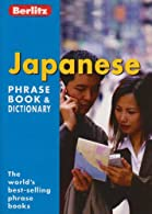 Japanese Berlitz Phrase Book  by *
