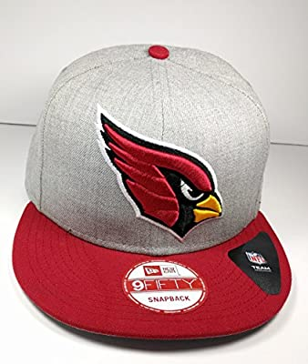 New Era Arizona Cardinals 9Fifty Bind Back Red Logo Adjustable Snapback Hat NFL