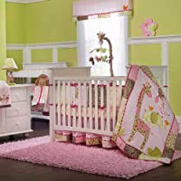Cool Jungle Jill Piece Baby Crib Bedding Set with Bumper by Carters