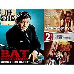 Bat Masterson: The Series (Seasons 1, 2 & 3) PLUS 2 Bonus Movies - 16 DVD Collector's Edition