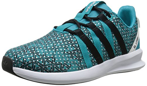 Adidas Originals Women's SL Loop Racer W Sneaker,Shock Green/Black/White,8.5 M US