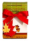Too Good Gourmet Harvest Moms Apple Pie Cookies in an Autumn Leaf Pop Up Gift Box, 2-Ounce Packages (Pack of 12)