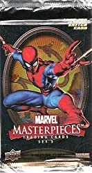 Marvel Masterpieces Trading Cards Set 3